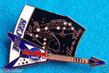 VEGAS PISCES FISH ASTROLOGY ZODIAC NIGHTSKY GUITAR Hard Rock Cafe PIN FREE SHIP