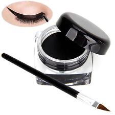 Women Charms Black Eye Liner Eyeliner Shadow Gel Makeup + Brush Waterproof New C