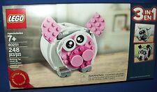 LEGO 3 in 1 Creator Piggy Bank Polar Panda Bear 40251 Limited Edition sealed NIB