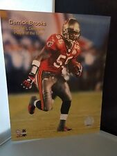 Derrick Brooks # 55 Tampa Bay Buccaneers Player of the Year 8 x 10 Photo file
