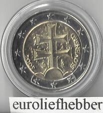 SLOWAKIJE  2 Euro  2009   UNC   in Capsule  OP VOORRAAD