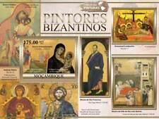 MOZAMBIQUE - 2011 Byzantine Paintings, Stamp Souvenir Sheet