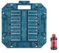 BUNDAI Kamen Rider Build DX Pandora Panel Fire Engine Full Bottle F/S w/Track#