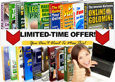 Learn How to Make Money Online Fast & Easy 27 Pdf Ebooks with Full Resell Rights