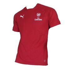 Arsenal FC London Casual T-Shirt Performance 2017/18 Puma Red M L XL XXL