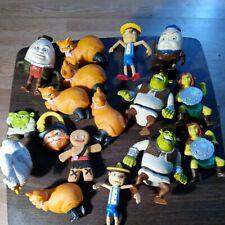 Huge Lot (17) Shrek McDonald's Toys