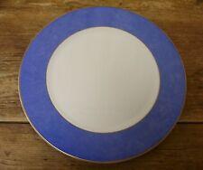 """Villeroy Boch Arc En Ciel Chop Large Plate Charger 304219 Blue Rim 12"""" Heinrich"""
