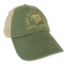 POLO RALPH LAUREN men's TRUCKER HAT Camp Sentinel Rock Vintage Teal Mesh OneSize