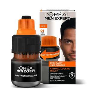 Loreal Men Expert One Twist Hair Colour 01 DEEP BLACK
