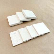 Caesarstone and Silestone White Quartz Countertop Samples