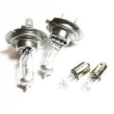 Alfa Romeo 156 H7 H6W 100w Clear Xenon HID Low/Side Headlight Headlamp Bulbs Set