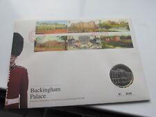 2014 Buckingham Palace medal/stamp set PNC. Mint