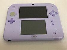Nintendo 2DS lavender Japan import F/S JAPAN USED
