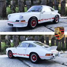 1973 Porsche 911 Carrera RS 2.7 Alloy 1:18 Diecast Car Model Vintage Sports Cars