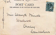 Lancashire Posted Collectable Social History Postcards