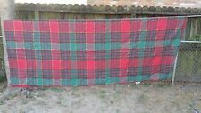 "Red Green Gold Christmas Plaid Rectangle 72""X54"" Tablecloth Free Shipping"