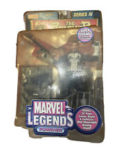 Marvel Legends Series IV Punisher Action Figure With Comic Book 2003 Toy Biz