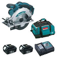 MAKITA 18V LXT BSS611 BSS611Z CIRCULAR SAW 2 x BL1830, 1 x DC18RC AND BAG