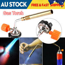 NEW Gas Blow Torch Burner Welding Soldering BBQ Ignition Lighter Flame Thrower