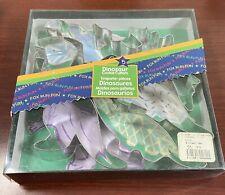 Fox Run Craftsmen Metal Cookie Cutters Dinosaurs  3641
