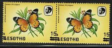 Lesotho - SG# 724 - Pair - Overprint ERROR - Mint Never Hinged - Lot 061216