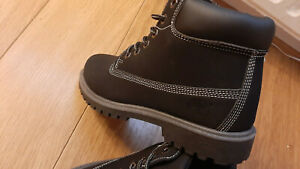 Timberland mens black boots size UK 8 EU 42