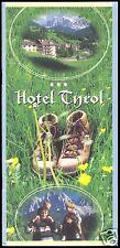 tour. Broschüre, St. Magdalena, Villönsstal, Südtirol, Hotel Tyrol, 1999