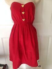 REKO Red Dress Juniors 1-3