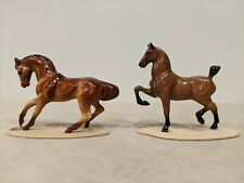 Hagen-Renaker Thoroughbred And Hackney Pony Miniatures