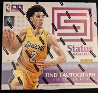 2017-18 Panini Status Basketball Hobby Box sealed in-hand Free Shipping!!
