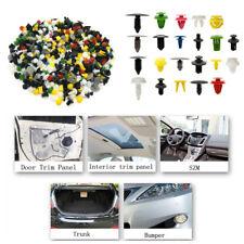 200Pcs Practical Car Various Rivet Fasteners Push Pin Bumper Fender Panel NEW