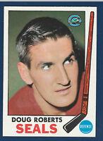 DOUG ROBERTS 69-70 TOPPS 1969-70 NO 81 NRMINT++  3