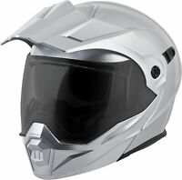 Scorpion Exo-At950 Modular Solid Helmet Hypersilver