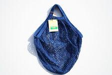 BOULEVARD Stringa shopping bag realizzata da riciclato cotone greggio, MANICI CORTI