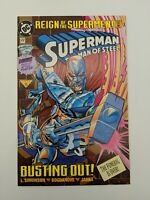 Superman The Man of Steel #22 DC Comics June 1993 Reign of the Supermen Poster
