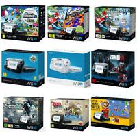 Nintendo Wii U Konsole (schwarz / weiß) versch. Originalverpackung / OVP 🎁