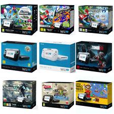 Nintendo Wii U consola (negro/blanco) dif. embalaje original/embalaje original 🎁 🎁