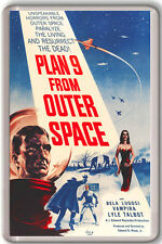 1959 PLAN 9 FROM OUTER SPACE FRIDGE MAGNET IMAN NEVERA