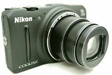 Nikon Coolpix S9700 Point & Shoot digital camera - black *pristine