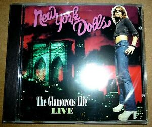 New York Dolls - The Glamorous Life Live / CD / 1999 / OVP Sealed / USA / Punk