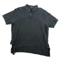 Polo Ralph Lauren Mens Polo Shirt Gray Short Sleeve Cotton Classic Fit Size 2XL