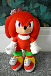 SONIC THE HEDGEHOG KNUCKLES RED PLUSH TEDDY TOY
