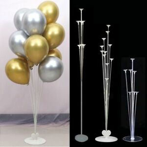 7/11 Tubes Air Baloon Stand Birthday Balloons Party Supplies Wedding Decoration