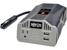 Tripp Lite 200W Car Power Inverter with Outlet & 2 USB Charging Ports, Ultra-Com
