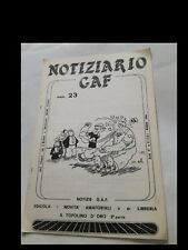 NOTIZIARIO GAF nr. 23 del 1984