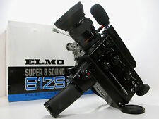 ELMO Professional Super 8 MOVIE CAMERA In Box W/Inst  Nice! Top Of The Line!