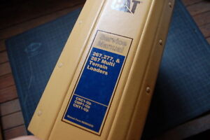 CAT Caterpillar 267 277 287 Skid Steer Loader Service Manual Shop repair owner