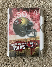 NFL LICENSED SAN FRANCISCO 49ERS WRITING INSTRUMENTS PAD AND PEN 3+ Sealed