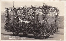Rp; Kamloops , B.C. , Canada , 1920 ; Dominion Day Float #3