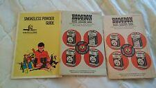 2 Hodgdon Basic Loading Data Pamphlets, rifle pistol shotshell  unknown year